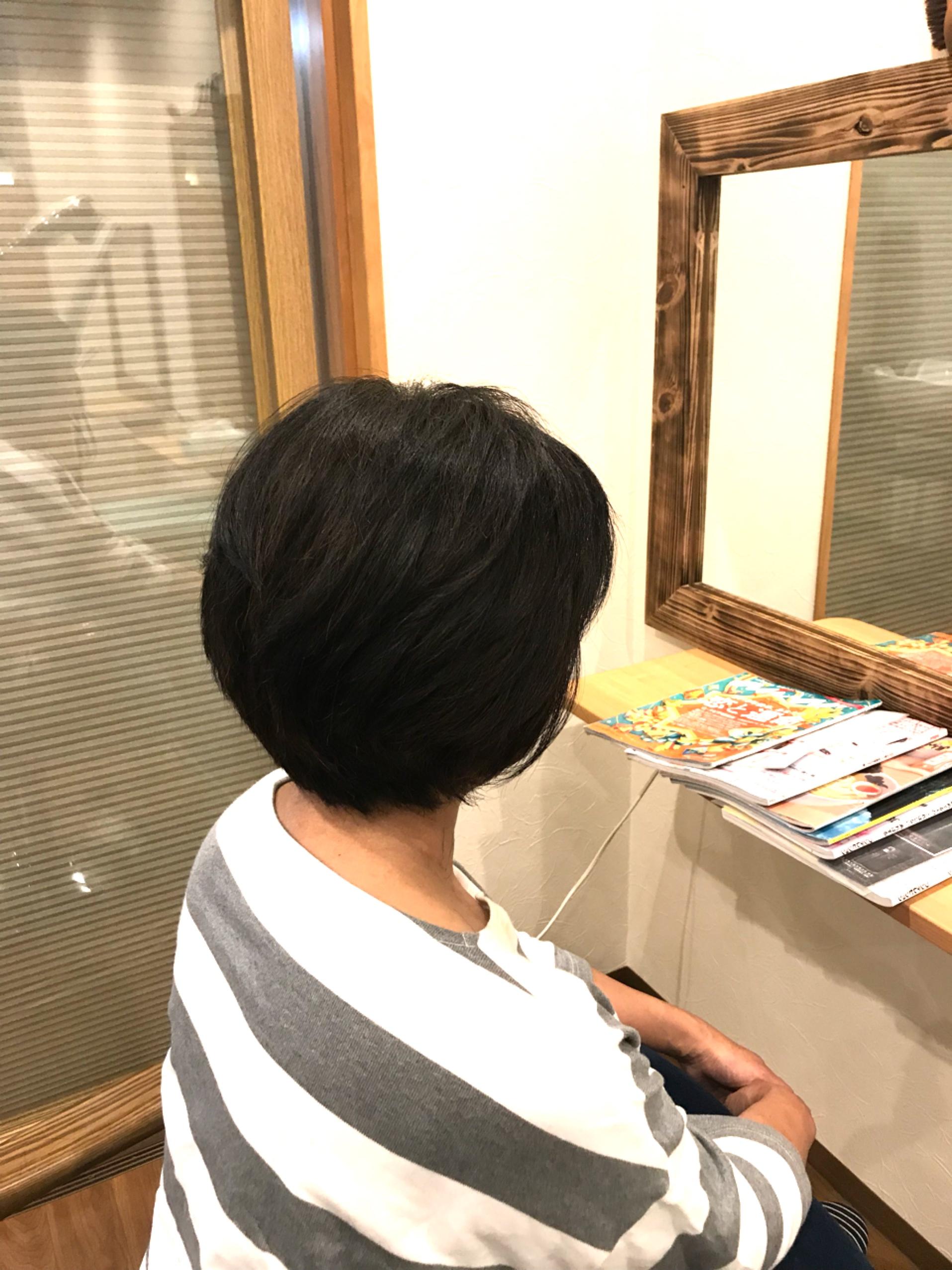 いつまでも若くありたい髪は重要
