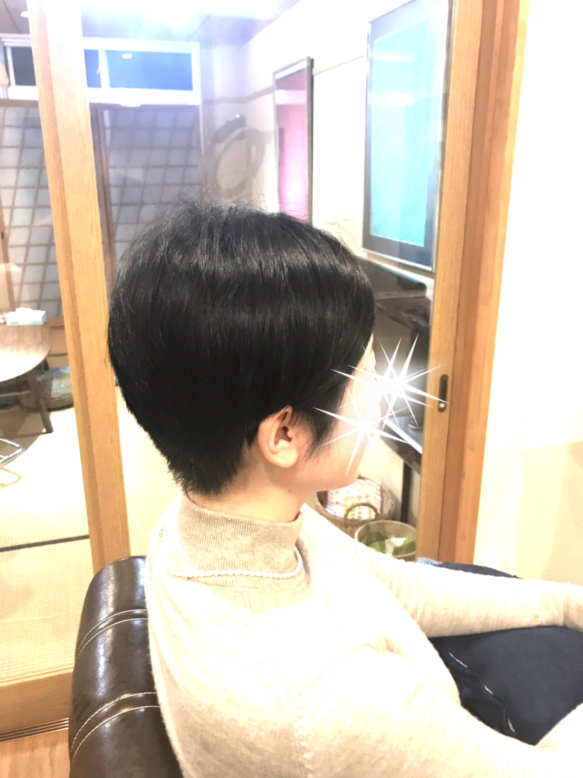 ストレートの髪質