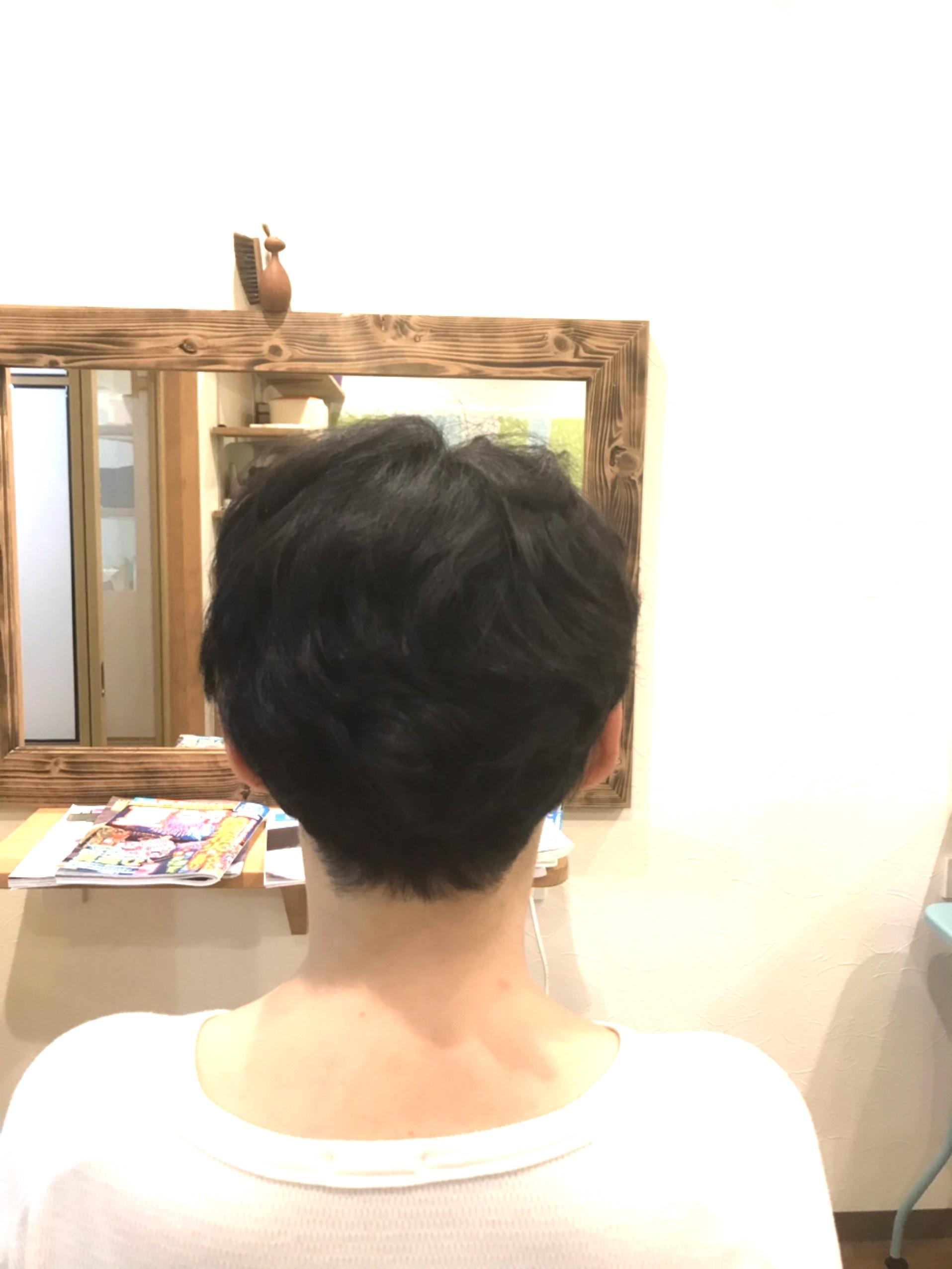 クルクルくせ毛さん