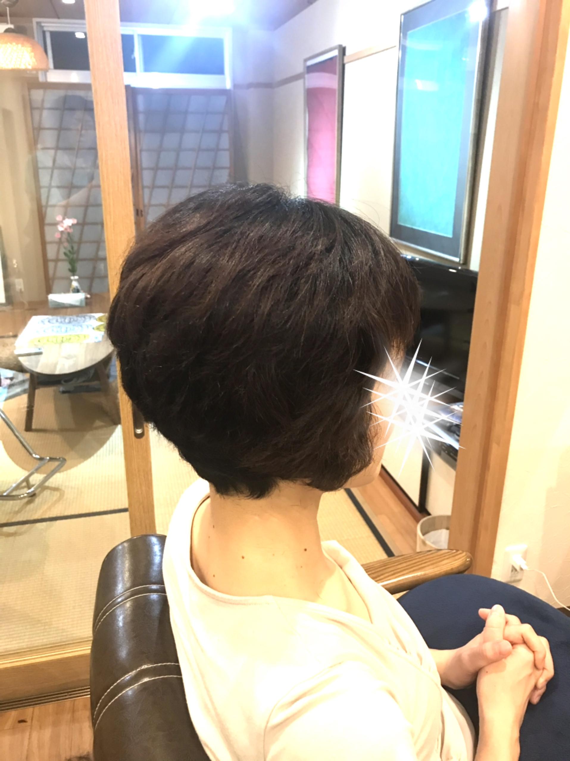 くせ毛カット3回目