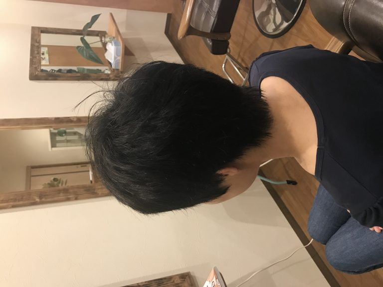 まとまる髪が整ってきた