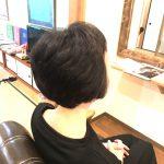 髪が強くなった