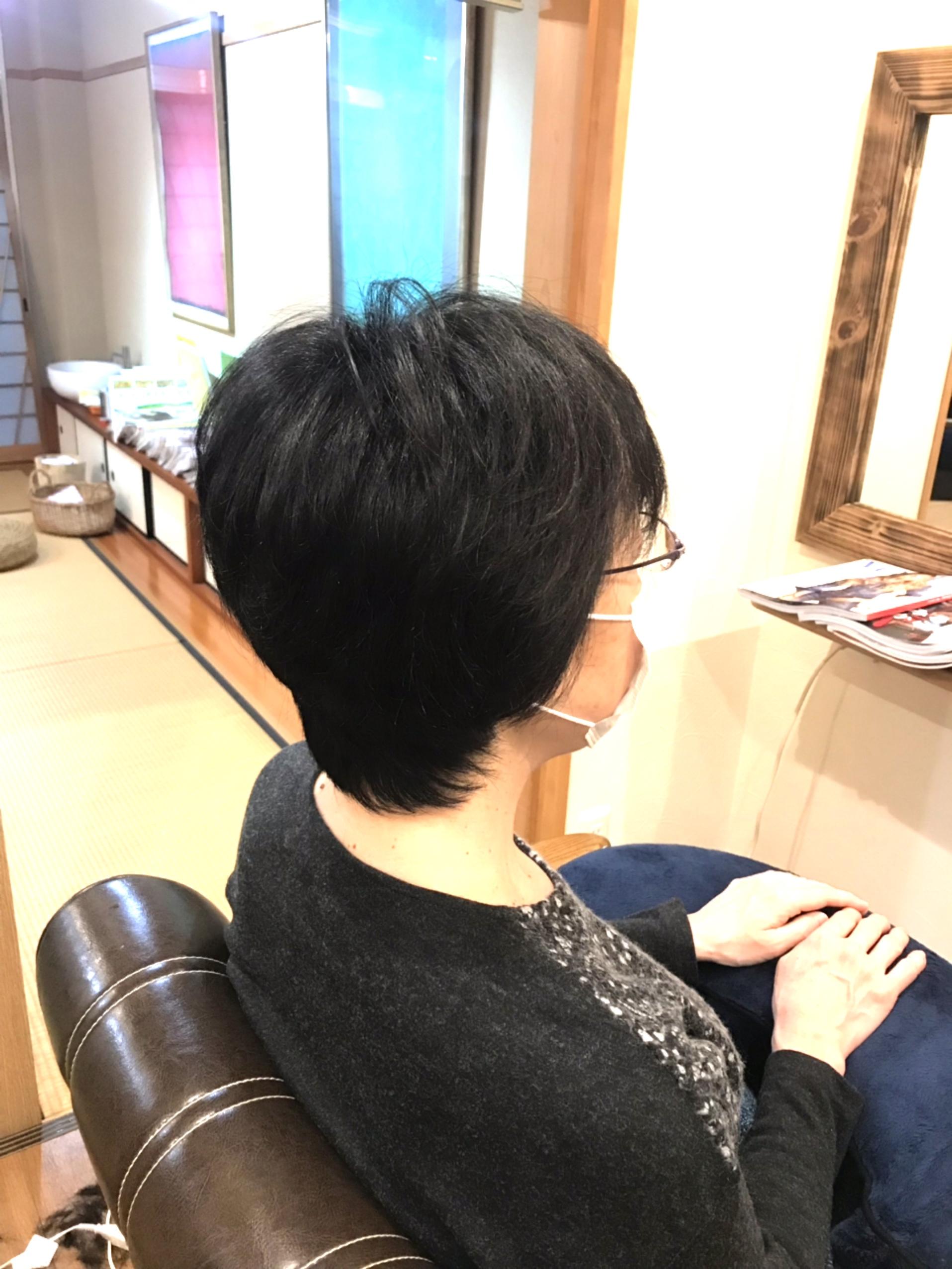 チリチリとなりやすい髪質