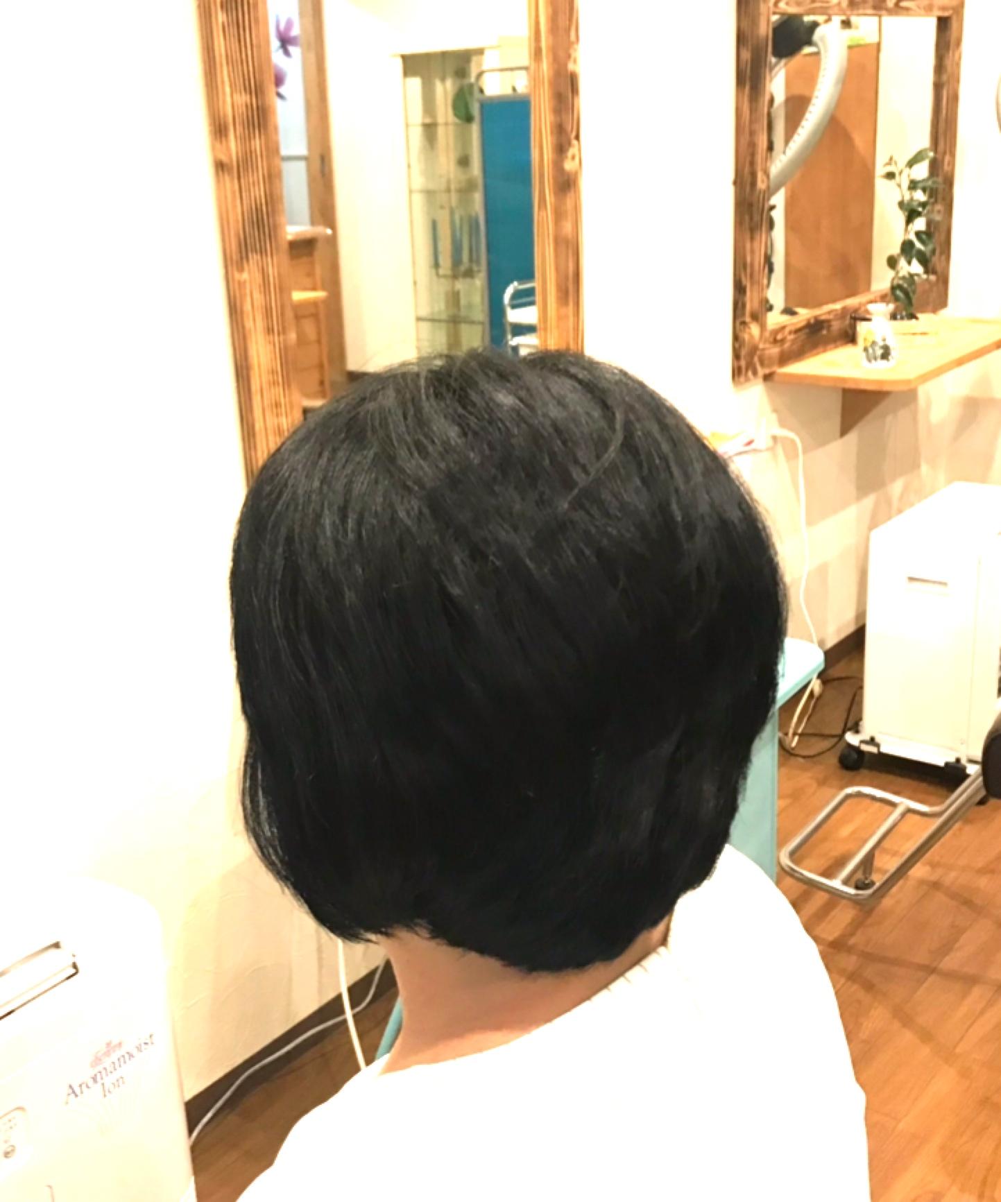 髪のいろいろを矯正
