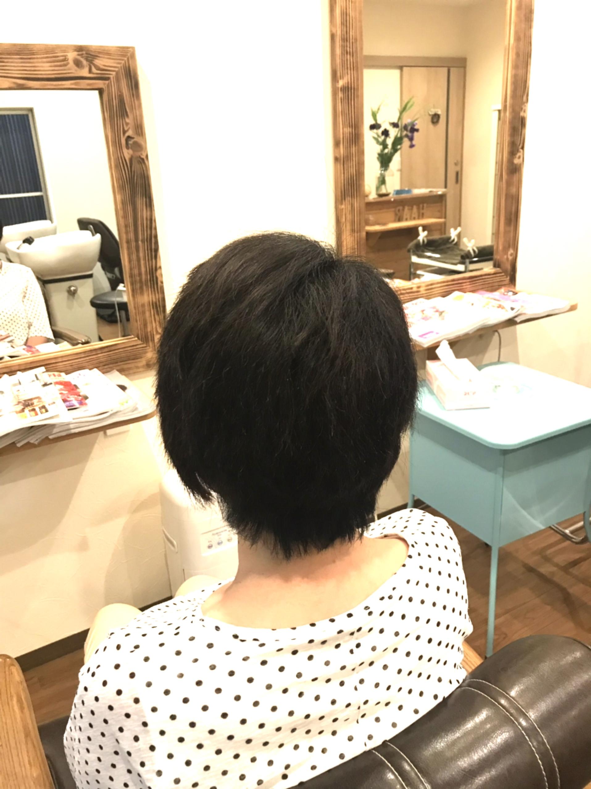 髪のコンディションを整える