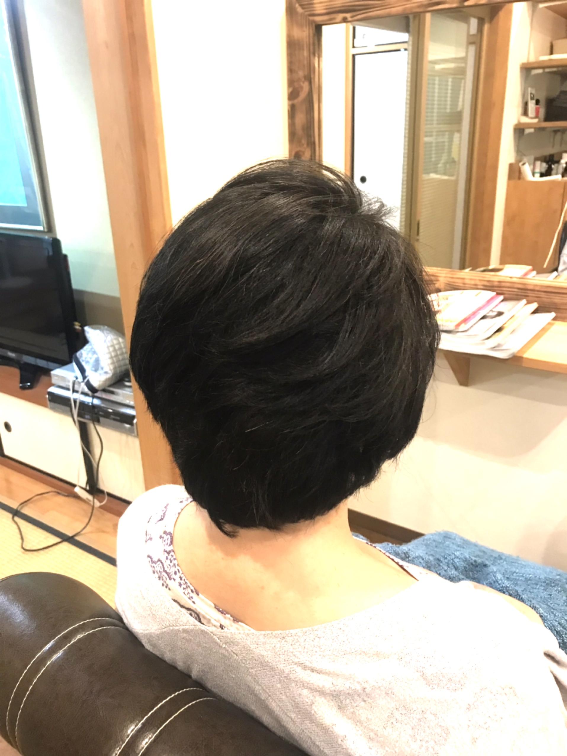 頭皮と髪が変わった