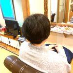 普段の髪の動き