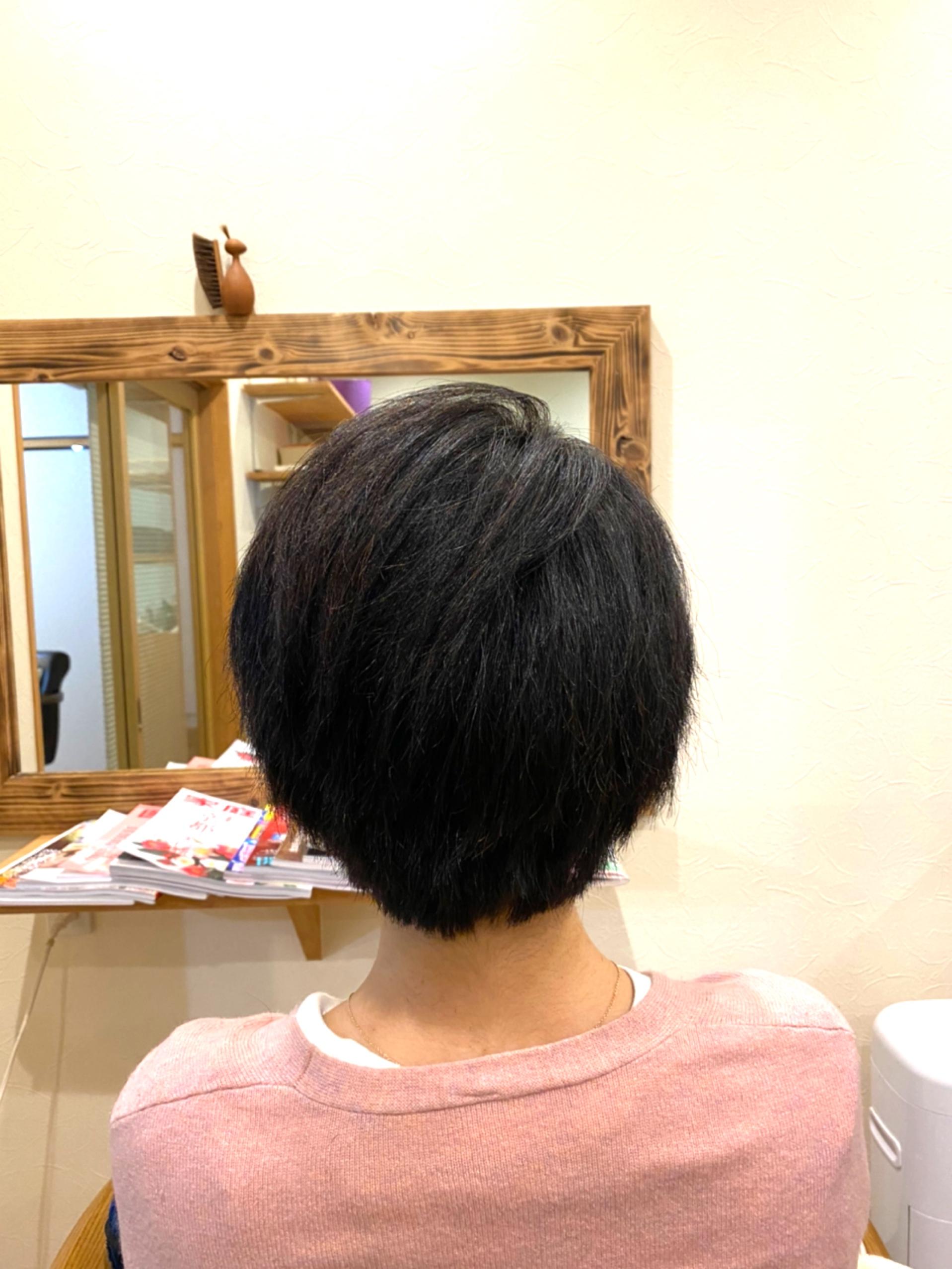 髪を大切に育てていく