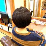 しっかりした髪質