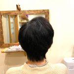 まとまりの良い髪に