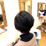 四角くなりがちな髪質と頭の形