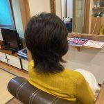動きのある髪
