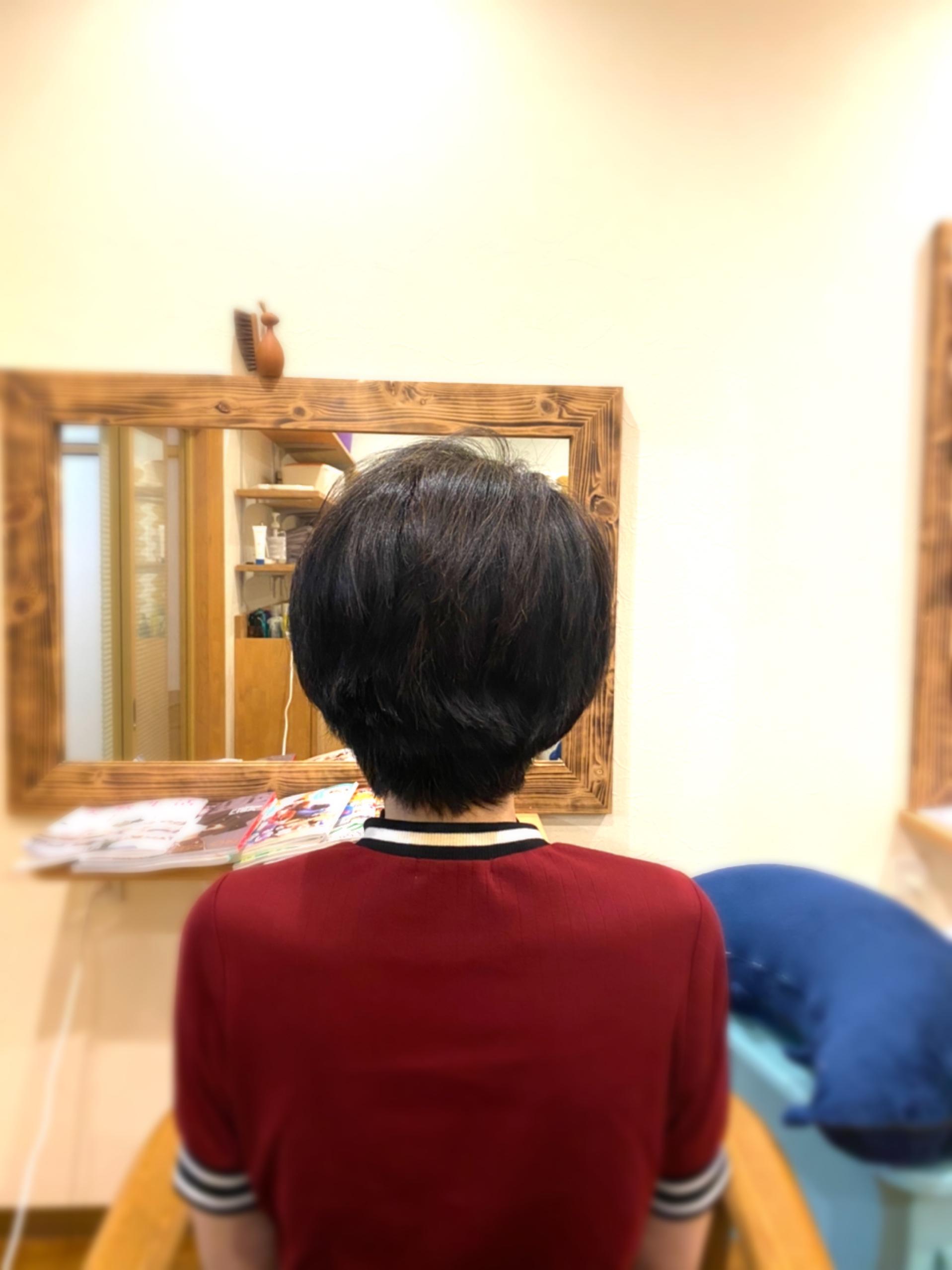 ダメージのない髪は楽
