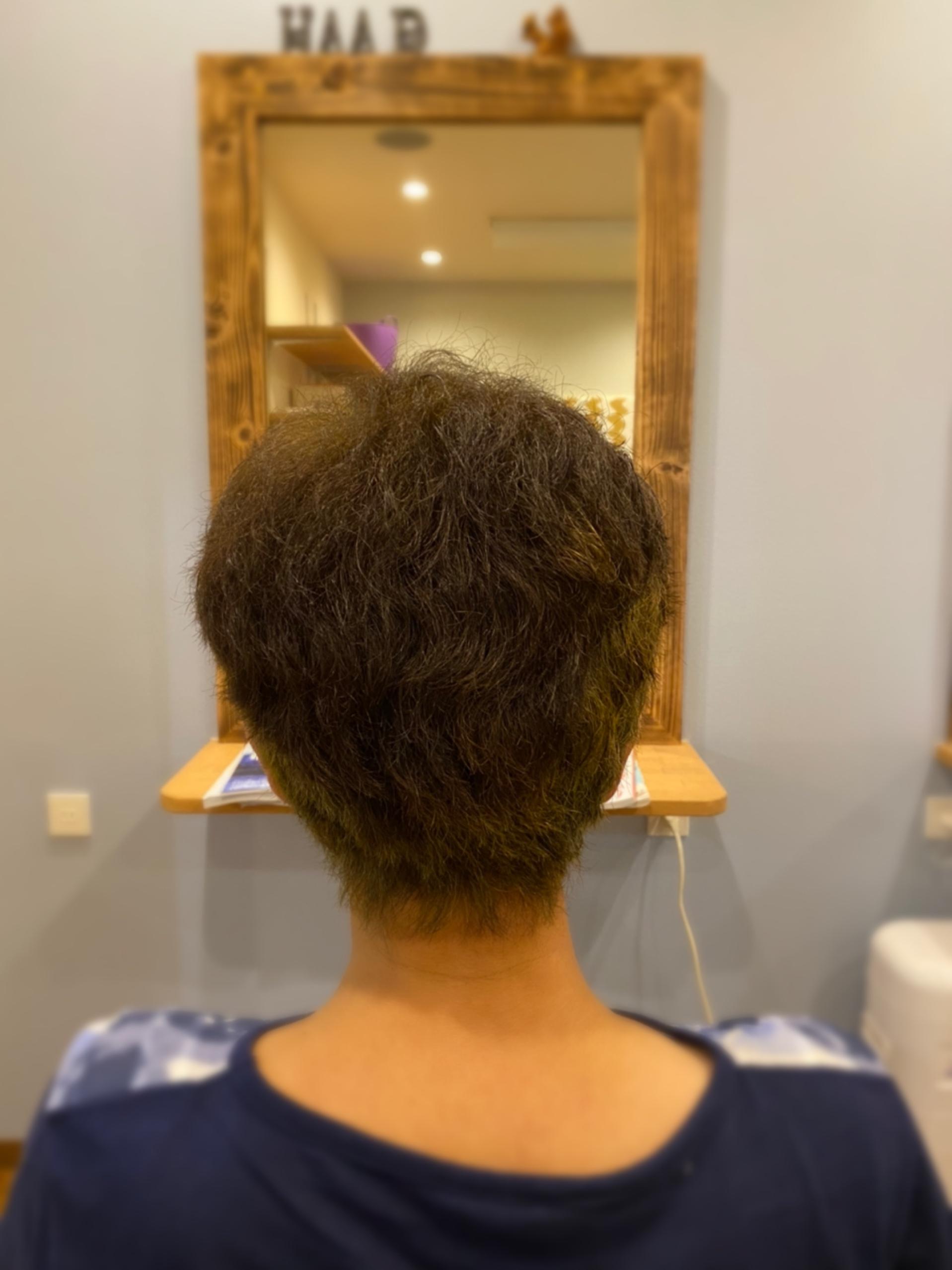 髪改善スタート