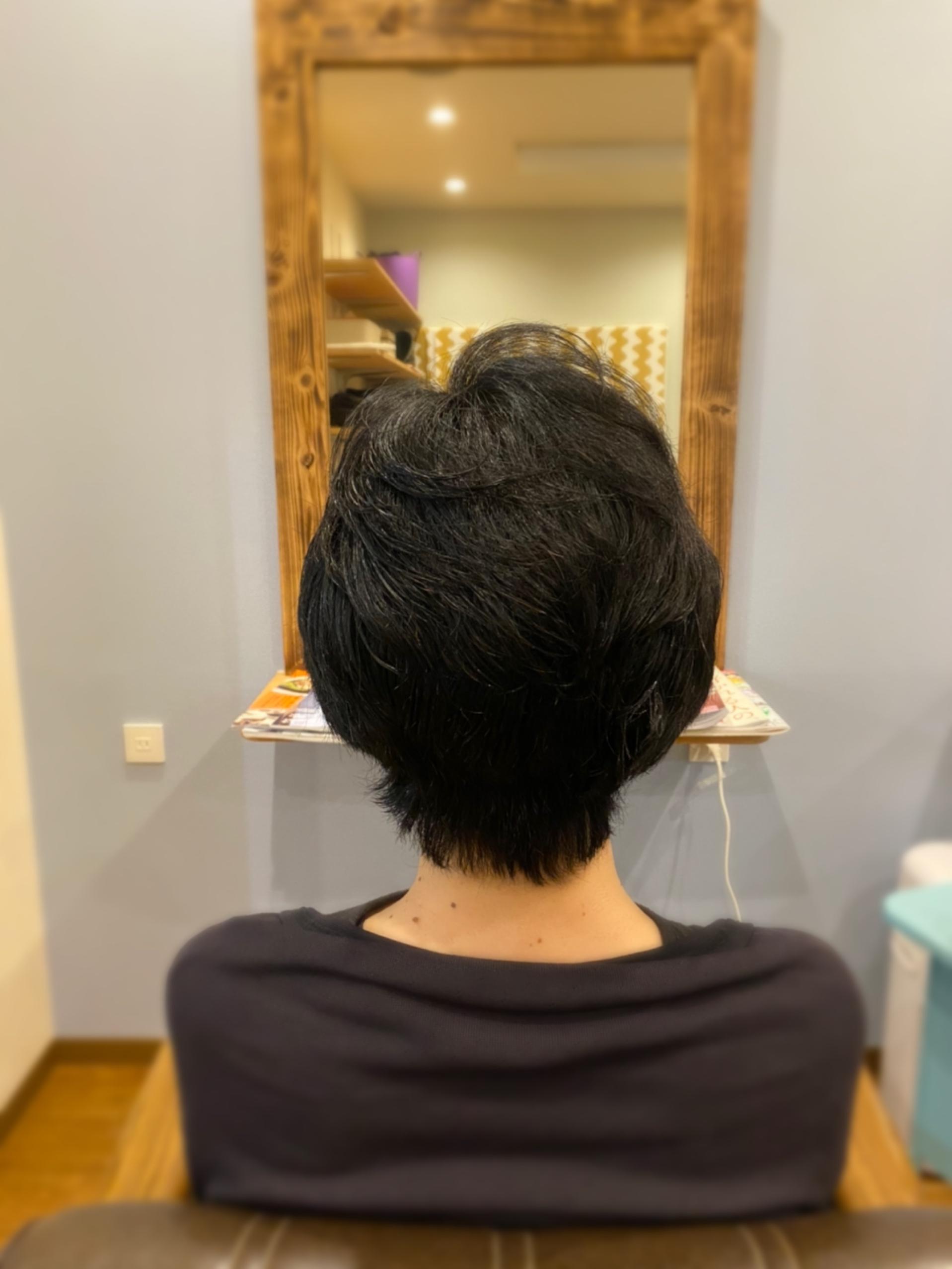 パサつく髪質