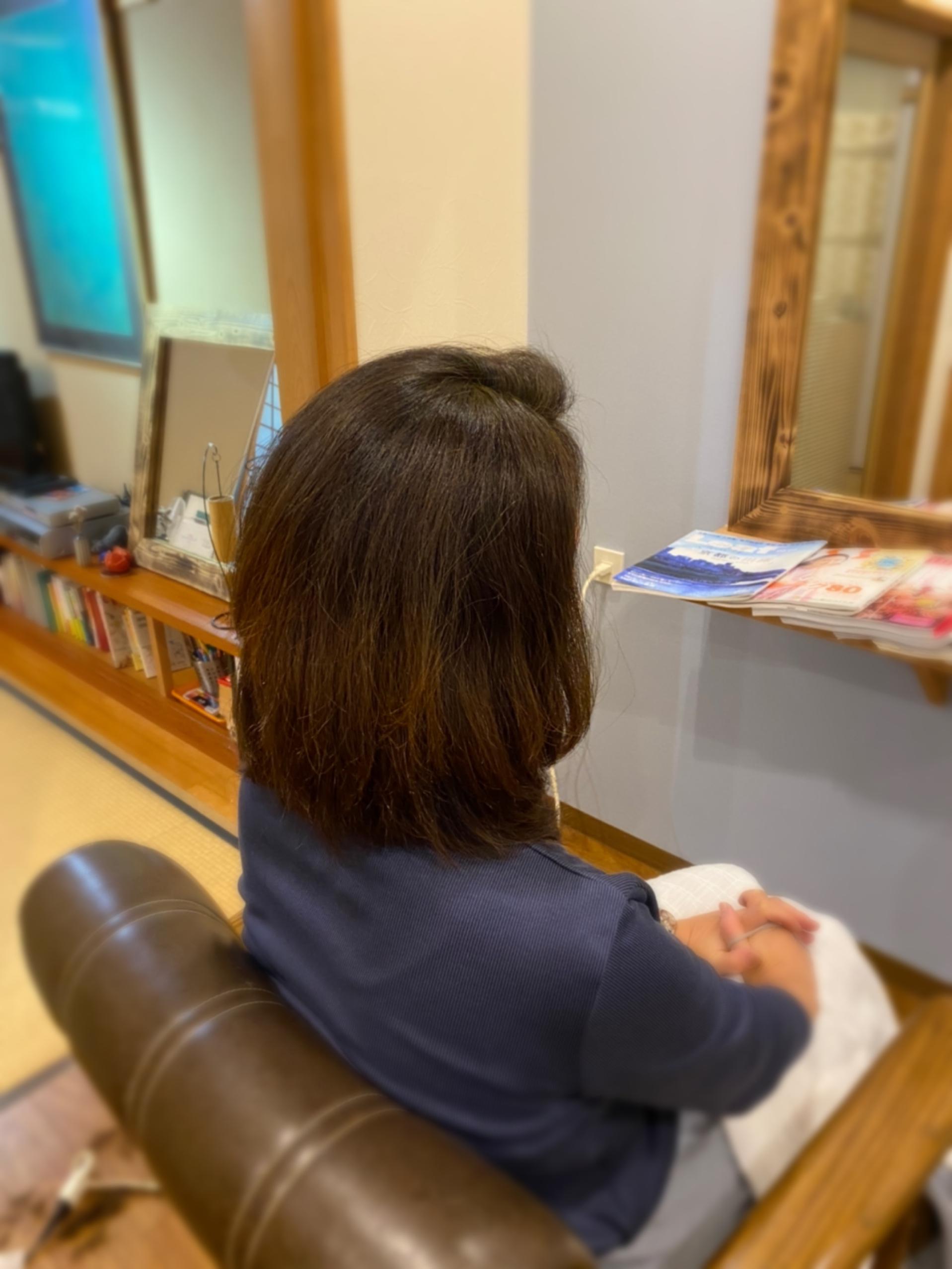 まとまりやすい髪に