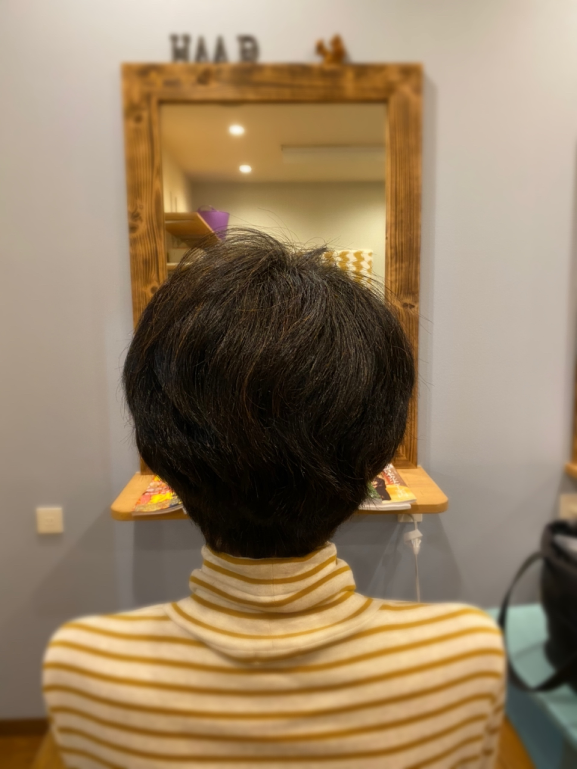 まとまる艶やかな髪に